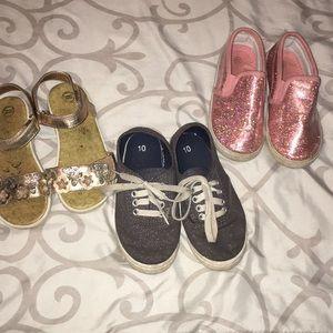 Size 10 3 pair shoe bundle 💕